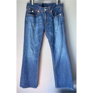 True Religion Mens Billy Jeans 34x33